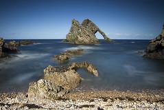 Bow Fiddle Rock (silverlarynx) Tags: bow fiddle rock scotland moray le firth