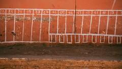 Wall & Numbers (toletoletole (www.levold.de/photosphere)) Tags: fujix70 marokko zagora wall zahlen street numbers mauer