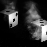 Dice in motion thumbnail