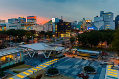 Sunset @ Nagoya (Marcel Tuit | www.marceltuit.nl) Tags: 2016 6d asia aziã« bluehour canon canon6d eos holland honshu japan me marceltuit nagoya nederland november oasis21 thenetherlands vakantie amusement architecture architectuur autumn backpacking blauweuur city contactmarceltuitnl eiland fall fareast ferriswheel herfst holiday island park reuzenrad stad sunset travel verreoosten wwwmarceltuitnl zonsondergang