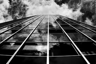 sky in building