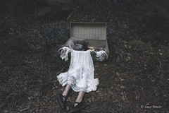 memories decay (Lucz-) Tags: dress surreal conceptualphotography luczfowler shoes depression love gothic creepy horror fashion