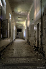 endless corridors (Urban Tomb Raider) Tags: urbex urbanexploration decay abandoned abandonedhospital abandonedlungsanatorium urbandecay beautyofdecay urbexgermany canoneosm