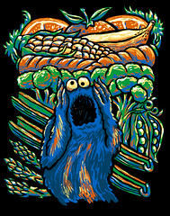 a-monstrous-sceam-500px (Lucky1988) Tags: cookiemonster sesamestreet thescream edvardmunch