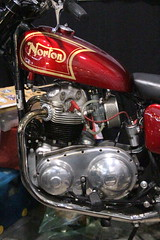 20131108 Lyon Rhne - Epoc Auto - Norton Ranger PII 750 cc -(1968)-001 (anhndee) Tags: france frankreich lyon rhne moto motorcycle motorbyke motorrad rhonealpes motoancienne motosanciennes epoqauto