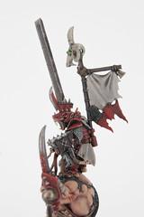 Skaven Warlord on Rat Ogre Bonebreaker (revolution8) Tags: rat fantasy warhammer ogre warlord skaven bonebreaker whfb