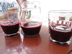 """La chicha morada, boisson de maïs noir avec de la canelle (très bon!) • <a style=""""font-size:0.8em;"""" href=""""http://www.flickr.com/photos/128043923@N02/15151416679/"""" target=""""_blank"""">View on Flickr</a>"""