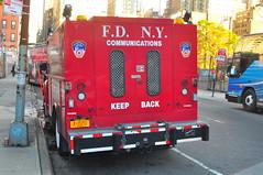 FDNY Communications (Triborough) Tags: nyc newyorkcity ny newyork ford manhattan firetruck fireengine fdny communications hellskitchen f650 newyorkcounty fseries newyorkcityfiredepartment
