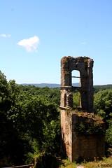 La torre di Monterano (El Peregrino) Tags: italy tower ruins italia torre tour lazio rovine monterano yourcountry