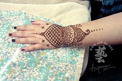 HENNA TATTOO  (artdenet@gmail.com (Aupoman)) Tags: henna mehndi hennatattoo hennatattooartist hennacone  unpermanenttattoo aupoman hennatattooworkshop hennatattoohk