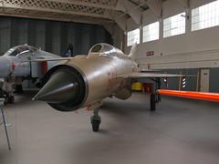 MiG 21 (The original SimonB) Tags: aircraft september planes duxford warbirds 2014 iwm