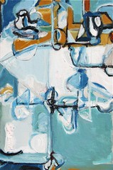 Somewhere... (Matthews Gallery) Tags: blue red sea abstract newmexico santafe tower art painting frank michael artwork artist gallery artgallery abstractart von paintings galleries artists painter expressionist beyond abstraction artforsale painters helms arthistory sinatra canyonroad abstracted abex abstractexpressionism artworld expressionists artnews matthewsgallery galleryblog michaelvonhelms