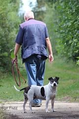 i said NO photos... (green-dinosaur) Tags: dog pet green countryside kent dof walk terrier paparazzi dogwalk suefagg
