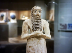 Standing male worshipper (top), Tell Asmar