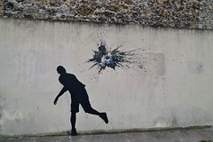 Pejac (lepublicnme) Tags: streetart paris france stencil september manet 2014 pejac