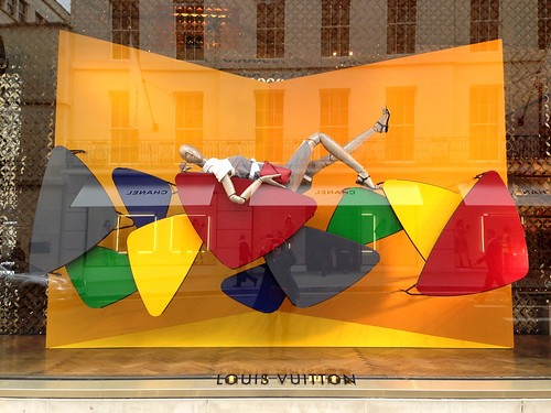 Vitrines Louis Vuitton/Charlotte Perriand - Londres, avril 2014