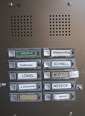 Ringers (FilmFlamMan) Tags: door bells europe buzzers hesse