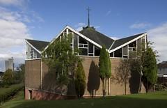 South Parish Church, East Kilbride, Scotland (SpaceLightOrder) Tags: brick church architecture scotland modernism newtown eastkilbride southlanarkshire brickcladding southparishchurch