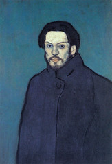 [ P ] Pablo Picasso - Self-portrait (1901)