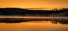 Isle Royale Sunrise (speedcenter2001) Tags: fall sunrise island nationalpark hiking michigan greatlakes isle lakesuperior isleroyale