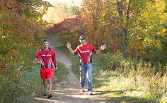 2014 Sep 27_6329 (Slobberydog) Tags: coyote park ontario race mono free running run cliffs trail chase dufferin provincial 2014