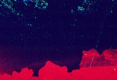 Subset Martian Drift (fibreman) Tags: blue red abstract colour film landscape manchester recycled lofi ambient layers psychedelic noise damaged rgb martian otherworldly