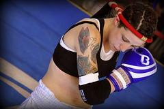Female Ram Muay (Claudia Tualek Comaschi) Tags: woman fight fighter spirit thai boxing wai ram muay amulet boxe khru mongkon