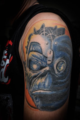 Here's Eddie (Outang) Tags: people tattoo iron arm eddie maiden