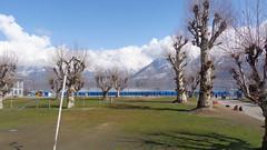 View of Dal Lake from Hazratbal Mosque (Rckr88) Tags: india mountain lake snow mountains asia dal mosque kashmir srinagar dallake mountainsnow hazratbal hazratbalmosque infinitexposure
