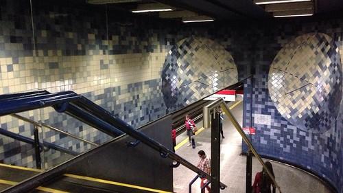 Metro Santa Lucía - Azulejos de Portugal