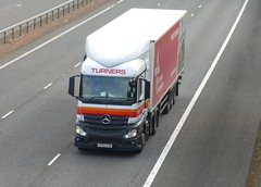 AY63 YUR (Cammies Transport Photography) Tags: truck mercedes benz air ambulance east lorry ltd flyover soham turners m74 lockerbie actros anglian of ay63yur