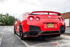 """RAYS 57FXX Gramlights - Nissan GT-R • <a style=""""font-size:0.8em;"""" href=""""http://www.flickr.com/photos/64399356@N08/15227623979/"""" target=""""_blank"""">View on Flickr</a>"""