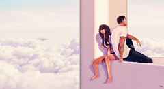 Cloud Watching (A K A M i ™) Tags: life cloud fashion photoshop strawberry sitting shadows many style tags second too skybox singh akami