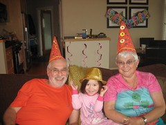 Special Anniversary party hats! (Sim-tov) Tags: vacation portrait holiday fun golden bay bc anniversary celebration cox tofino aug bubbe 2014 zaide