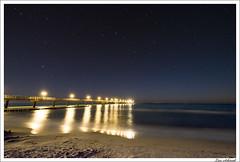 Seebrcke bei Nacht (schmilar77) Tags: sky stars pier nightshot himmel nachtaufnahme sterne seebrcke sternenhimmel tamron1024mmf3545spdiiildaslif