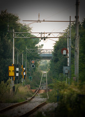 RailWay (Ph.ClaudioLuciano) Tags: water train river way long infinity railway
