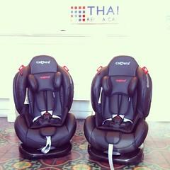 ไทยเร้นท์อะคาร์ เอาใจแฟนๆที่ชอบเดินทางท่องเที่ยวทั่วไทยไปกันทั้งครอบครัว   กับ Car Seat Camera รุ่น Top ใหม่ล่าสุด ที่เหมาะสำหรับน้องตั้งแต่แรกเกิดจนถึง 7 ขวบ สามารถปรับระดับการนั่งได้มากถึง 5 ระดับตามความเหมาะสมและความสูงของน้อง เบาะนุ่ม นั่งสบาย หนัง PU
