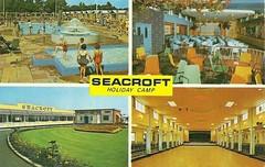 Seacroft Holiday Camp, Hemsby (trainsandstuff) Tags: vintage postcard norfolk retro archival pontins holidaycamp hemsby seacroft fredpontin