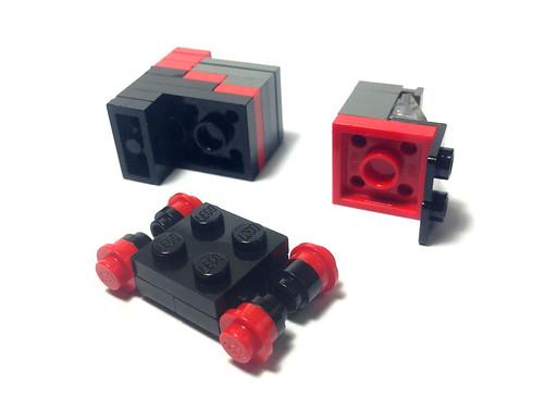 A-Team Van 2 - LEGO Micro MOC