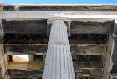 North porch column, the Erechtheion