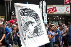 Flood Wall St._ 29 (The Whistling Monkey) Tags: canon demo protest police demonstration environment wallstreet capitalism globalwarming fws sitin pcm enviorment ows environmentalprotest canoneos7d peoplesclimatemarch occupywallstreet photobyterrymurphy photobythewhistlingmonkey peoplesclimate floodwallstreet