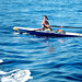 paddle ocean woman : cassis, france (2014)
