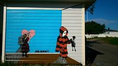 Mr. Hmm?? / Lofoten 2014 (Ferdinand 'Ferre' Feys) Tags: graffiti streetart norway lofoten graffitiart artdelarue graff urbanart stencil urbanarte arteurbano ferdinandfeys