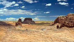 San Rafael Swell (Fil.ippo) Tags: travel sky cloud rock landscape utah desert geology sanrafael swell hdr filippo paesaggio d5000 filippobianchi