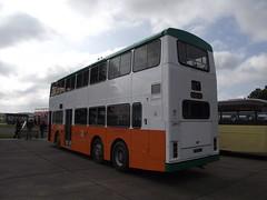 H74ANG (New World First Bus) 21-09-2014 Duxford Showbus.3 (routemaster2217) Tags: duxford imperialwarmuseum iwm showbus2014