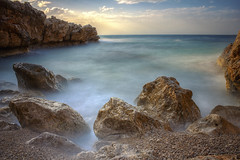 Dreamlight (Ricky92f) Tags: sea canon landscape long exposure sicily 1855 palermo mongerbino nd1000