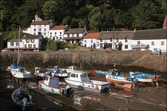 Lynmouth Harbour (Canis Major) Tags: village flood harbour devon tropicalstorm lynmouth riverlyn