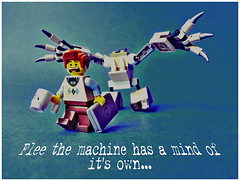 Flee the machine has a mind of it's own!!! (tim constable) Tags: nerd halloween computer photography miniature crazy scary mixed escape geek lego lol laptop evil robots machines funnypics minifigs mad runaway tabletop droid scientist flee programmer legit minifigures toyphotography scarper timconstablemonster