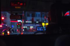 Taxi (jim_jimmy_james) Tags: theknowledge london taxi night satnav uber knowledge ltda hackneycarriage cab blackcab bokeh uberdriver addisonlee meter digitalclock bus blur mylondon jimjimmyjames