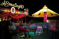 State Fair of Virginia (Photos by Dash) Tags: park blur wheel night canon dark virginia long exposure state fair ferris rides lightroom 70d